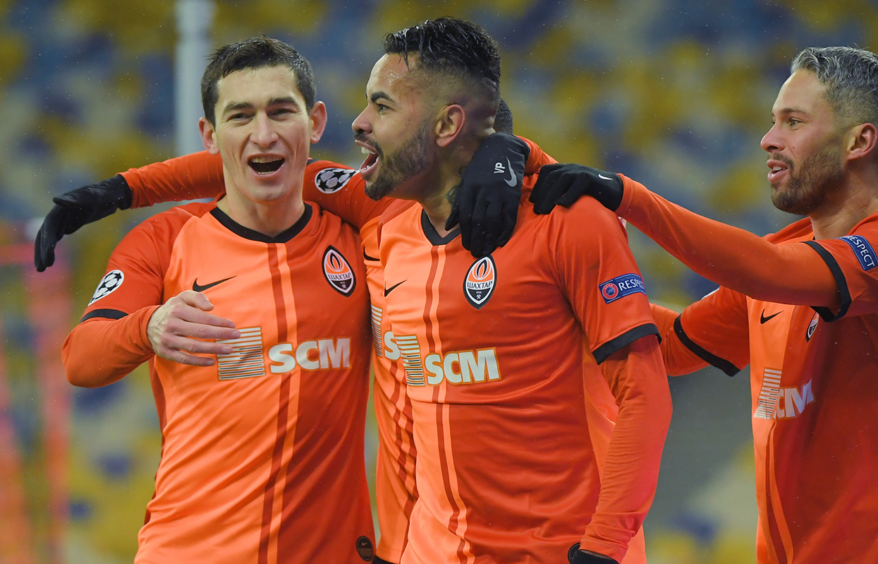 Shakhtar v Real_facts and figures