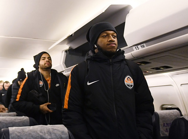 Shakhtar arrived in Zaporizhya