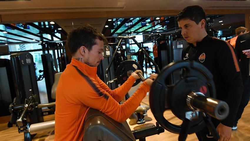 Тренировки Шахтера в Турции становятся все более интенсивными