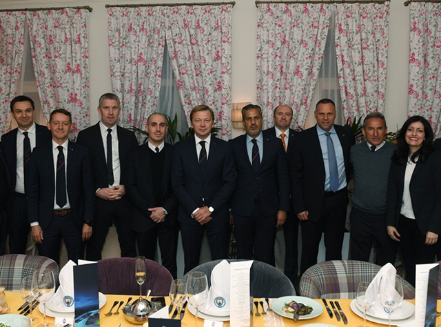 Shakhtar – Manchester City: official dinner