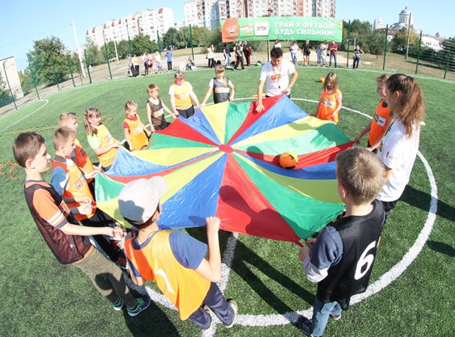 Training for kids with disabilities in Ivano-Frankivsk