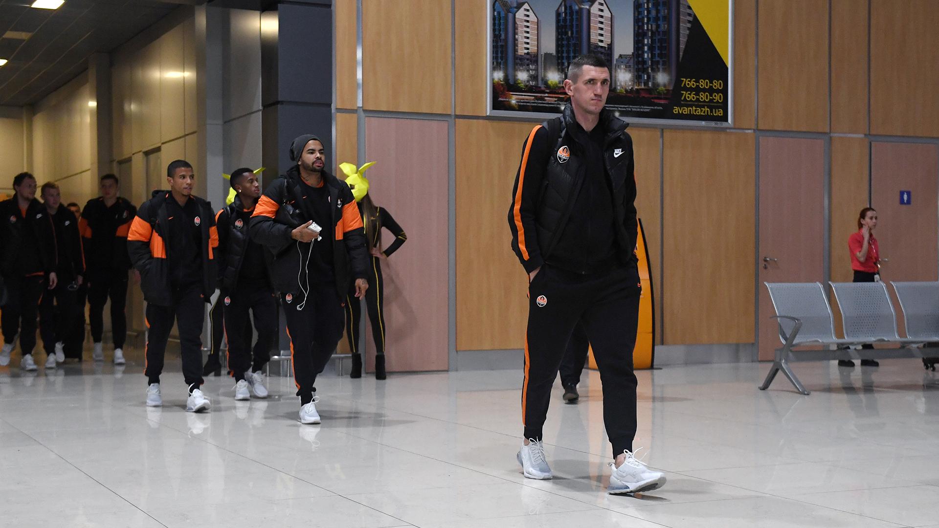 Шахтер прибыл в Харьков на матч с Динамо. Майкон впервые в заявке после травмы - изображение 1